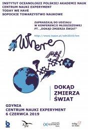 """Konferencja Młodzieżowa 2019 """"Dokąd zmierza świat"""""""
