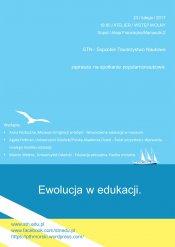 spotkanie pt. Ewolucja w edukacji