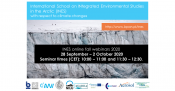 International School on INtegrated Environmental Studies in the Arctic (INES) with respect to climate changes