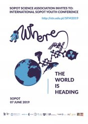 "International Sopot Youth Conference ""Where the World is Heading"" 2019"