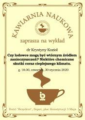 CXIX Kawiarnia Naukowa w Sopocie